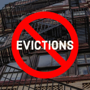 Coronavirus ban on evictions